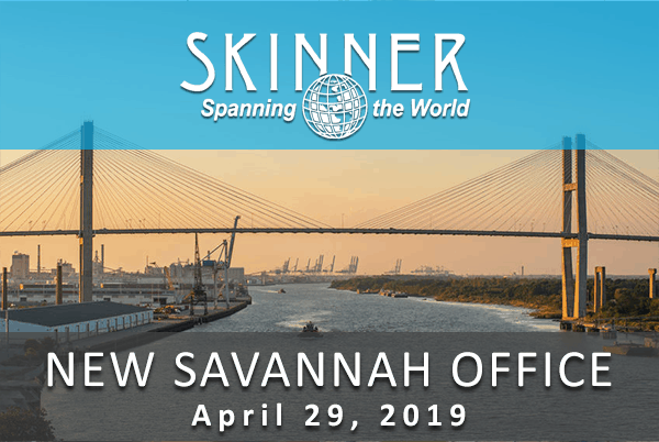 WB Skinner Opens New Savannah Office